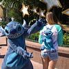 Stitch loved her Stich backpack