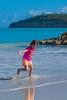 Mia at the beach in Antigua 1 - 2016-02-05