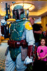 Boba Fett and excited Mia - 2017-02-23