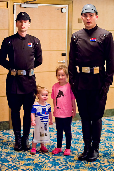 Imperial officers, Nina, Mia - 2017-02-23