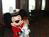 Lauren with ?????Could it be Mickey??