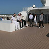 This is the crew-only deck! Deck 14 on the aft. I spent a LOT of time, day and night, up here.