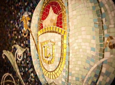 Mural - Cinderella's Couch, Disney Fantasy