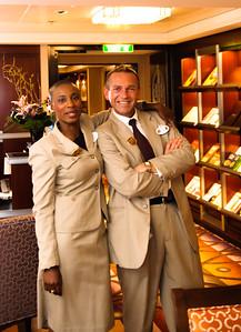 PJ and Kemisha - Concierge Lounge DIsney Fantasy