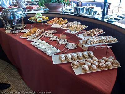 Pastry Bar at Palo Brunch