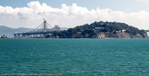 Yerba Buena Island and the San Francisco-Oakland Bay Bridge