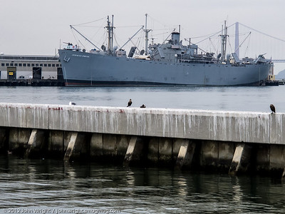 S/S Jeremiah O'Brien, a restored active WWII Liberty Ship