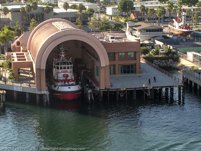 LA Harbor Fire Boat