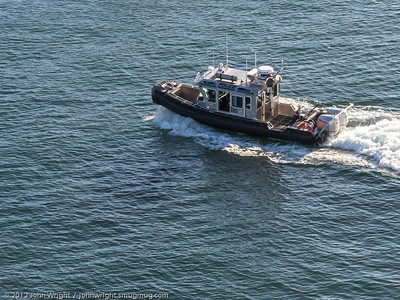 Los Angeles Police patrol boat