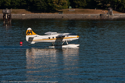 DHC-3 Turbine Otter taxing to takeoff point