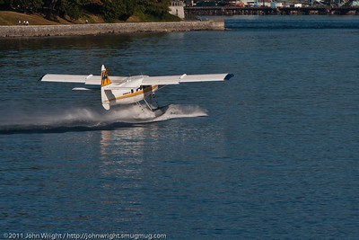 DHC-3 Turbine Otter takeoff run