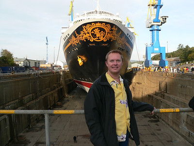 Disney Wonder Dry Dock 2011