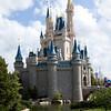 The Fantasyland castle