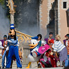Disney World Magic Kindom - Dream-Along With Mickey Show in front of the Cinderella Castle