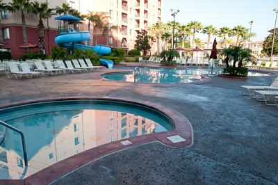 • Wyndham Bonnet Creek Resort • Swimming pool near our building