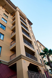 • Wyndham Bonnet Creek Resort • View to the top of our building