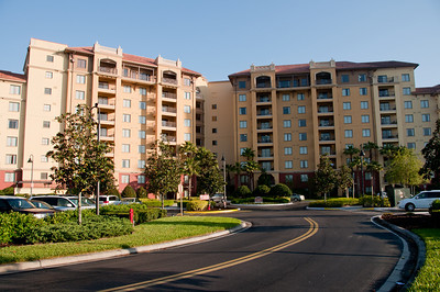 • Wyndham Bonnet Creek Resort • We stayed in a 3 bedroom suite in the building on the left