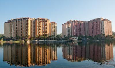 • Wyndham Bonnet Creek Resort • Various building around the resort