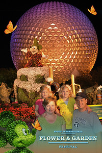 Coming back to Epcot to see Illumniations.