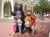 Abby, Alyssa, Taylor, and Carter with Baloo and King Louie.