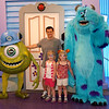 Mike Wazowski and Sully were a lot of fun.