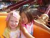 Riding the Dumbo ride at Magic Kingdom.
