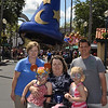 The family at Hollywood Studios.