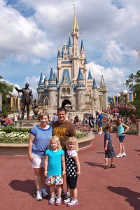 Our first day in Magic Kingdom!