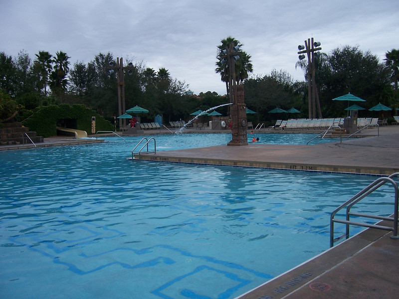 The pool at our Disney Resort.