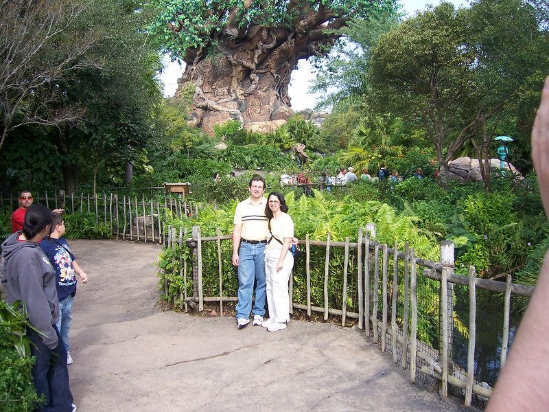 Jenn and Gary in Animal Kingdom