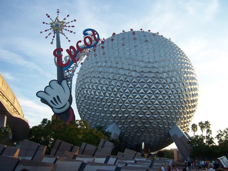 Welcome to Epcot.