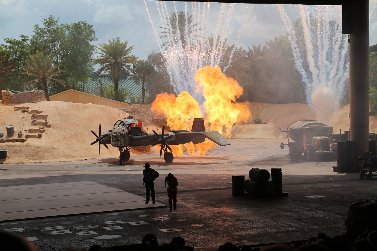 Disney Hollywood Studios, Indiana Jones stunt show