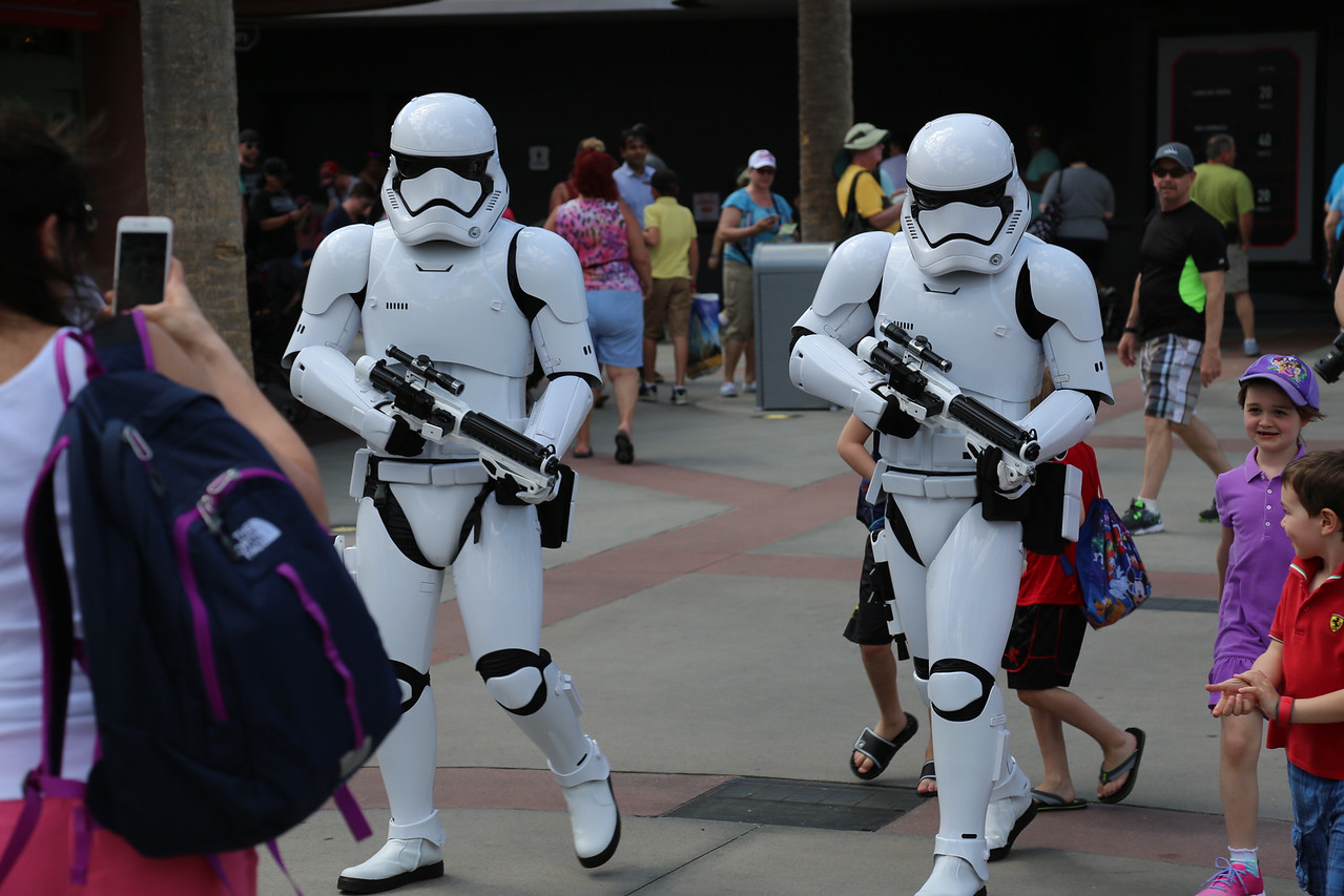 Disney Hollywood Studios, Storm troopers on patrol