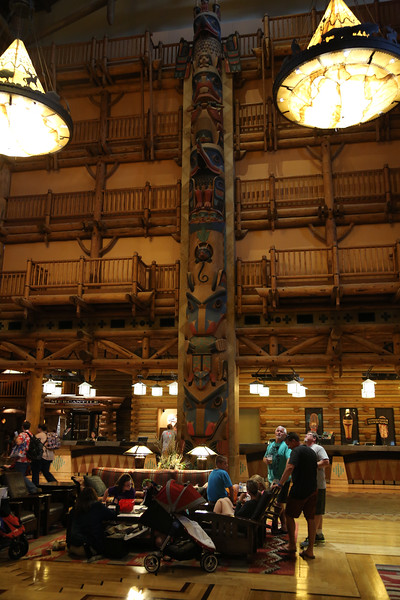 Inside the Wilderness Lodge