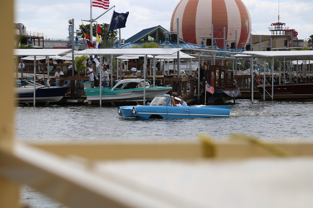 Combo boat / car at Disney Springs (Formerly Downtown Disney)