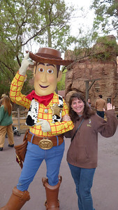 Woody and Diane