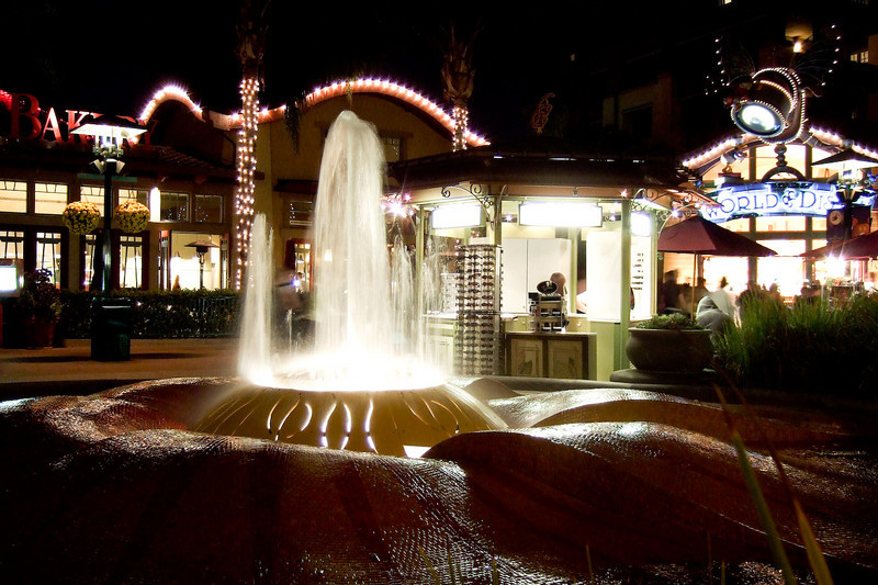 Water Fountain at Downtown Disney