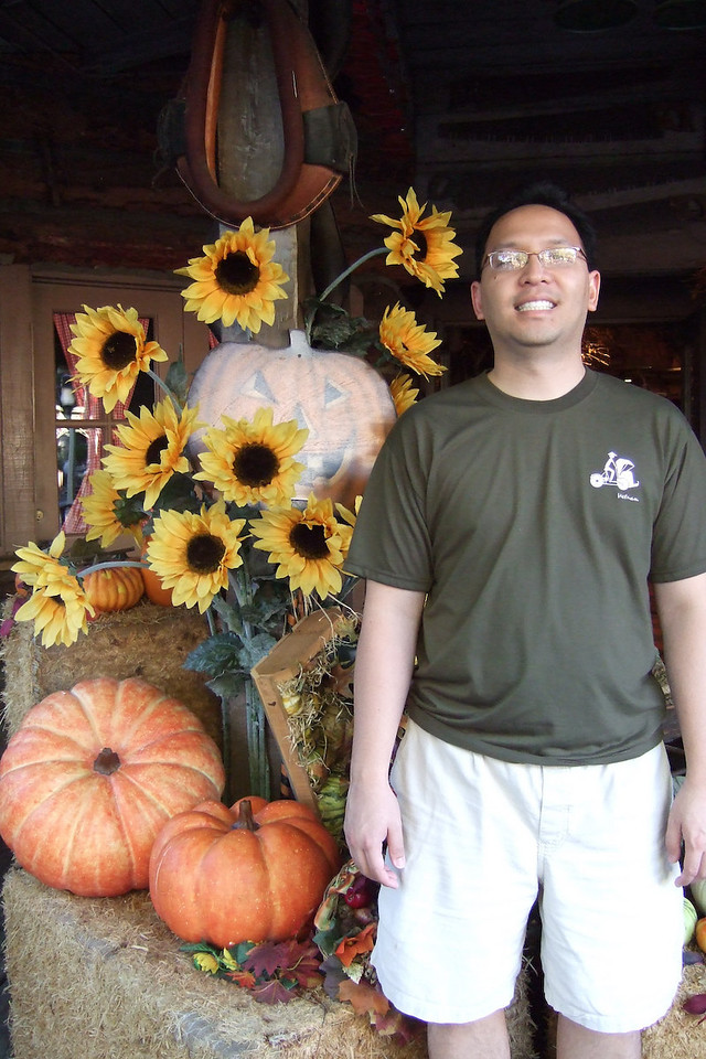 Vu and Sunflowers