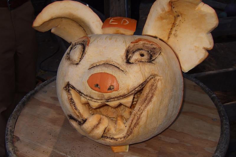 Ed the Pumpkin