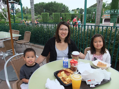 Breakfast at La Brea Bakery in Downtown Disney
