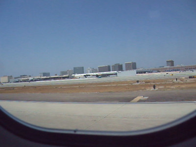 Takeoff from LAX
