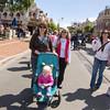 Arriving at Disneyland