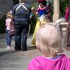 Waiting to meet Snow White