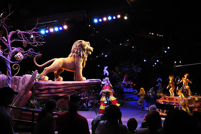 Festival of Lion King show