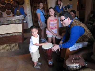 12:50PM Entering Sanaa Restaurant at Disney's Animal Kingdom Villas – Kidani Village