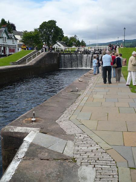 the locks of Loch Ness