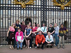all of us in front of Buckingham Palace<br /> <br /> back row:  Veronica, Graham, Greg, Shannon, Jackie, Joyce, Steff, Tierah, Kristin, Bharvi<br /> front row:  Twyla, Jenn, Paul, Linda<br /> <br /> missing from picture - Suzi who was off taking care of Descendium business