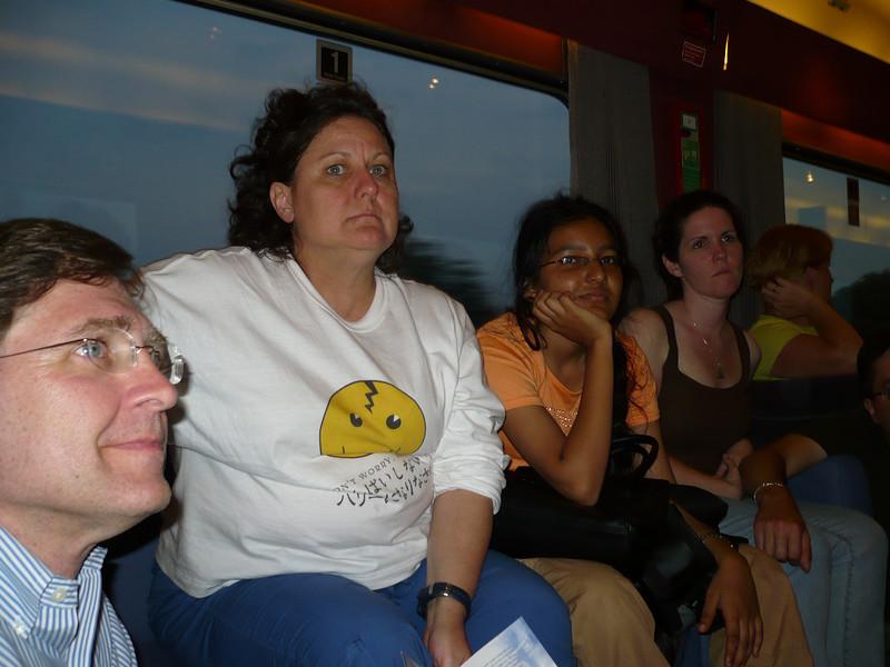 Paul, Joyce, Bharvi, Shannon