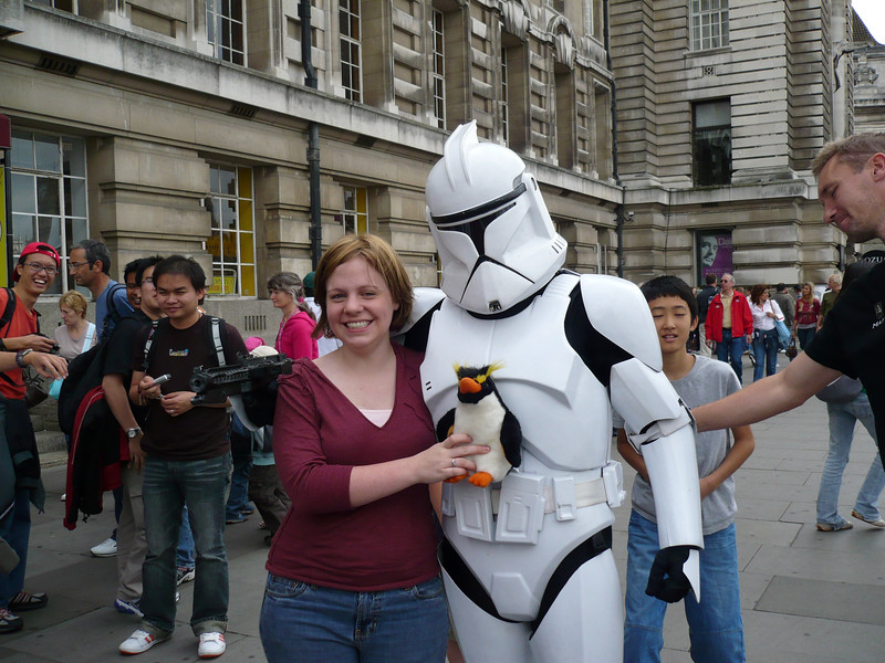 Mor & Gred - and of course - Storm Trooper!
