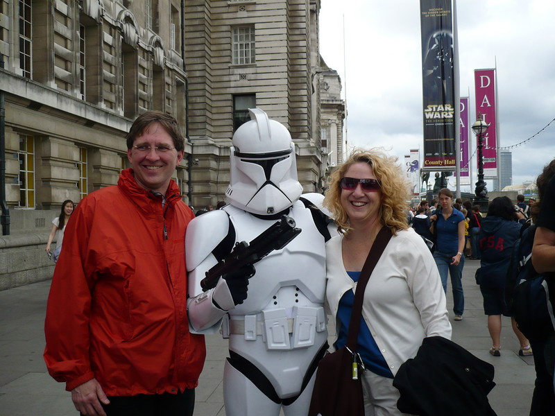 Paul & I with Storm Trooper
